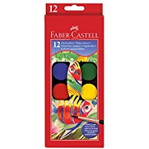 Faber-Castell 12ct Watercolor Paint Set