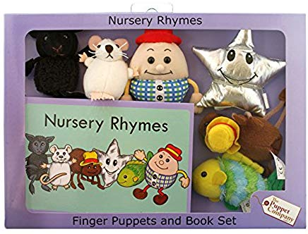 Puppet Company Nursery Rhymes Book with Puppets