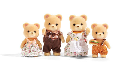 Epoch Calico Critters Cuddle Bear Family