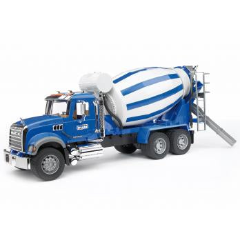 Bruder Toys - MACK Granite Cement Mixer