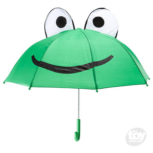 Lady And Leap Toy Shop - Green Friendly Frog Umbrella