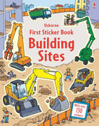 First Sticker Book Series - Building Sites by Usborne