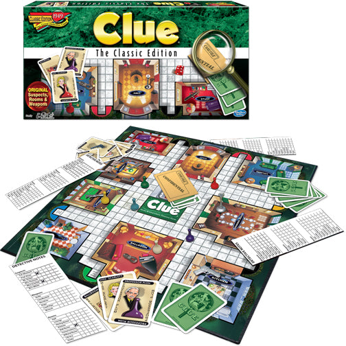 Winning Moves Clue - the Classic Edition