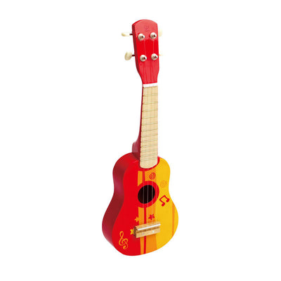 Ukelele, Red - Musical Instrument