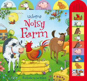 Noisy Farm book by Usborne