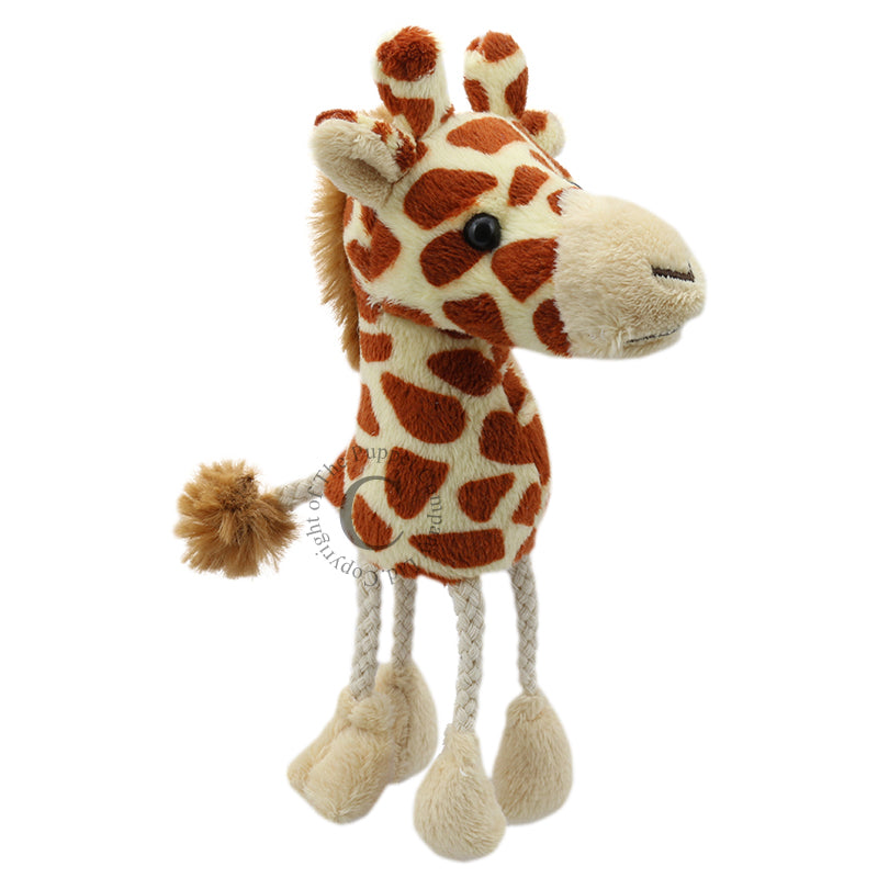 Giraffe Finger Puppets by The Puppet Company