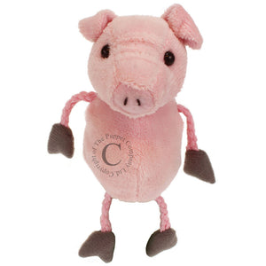 Pig Finger Puppet by The Puppet Company