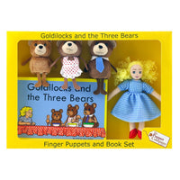 Puppet Company Goldilocks and the Three Bears book with puppets