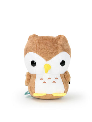 Bellzi Brown Barn Owl Stuffed Animal Plush