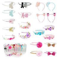 Pink Poppy Headband collection