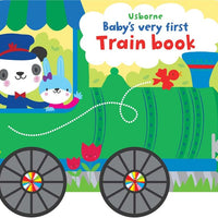 Baby's very first train book by Usborne