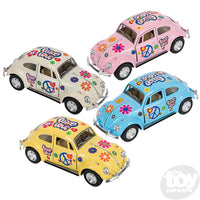 "Toy Network 5"" Flower Power VW Beetle"