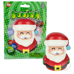"The Toy Network 4""  Squish Santa"