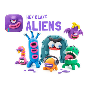 Fat Brain Hey Clay Aliens