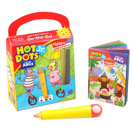 Hot Dots Jr. Highlights On-The-Go! Learn My ABCs with Highlights