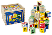 Schylling Alphabet Wood Blocks