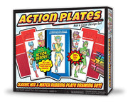 Action Plates Drawing Set by Kahootz Toys