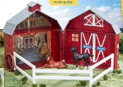 Breyer Stablemates Foals Pocket Barn