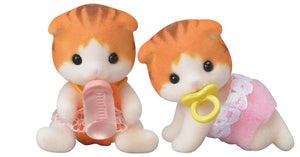 Epoch Calico Critters Maple Cat Twins