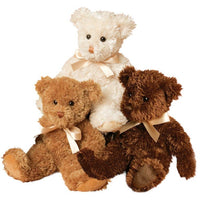 Douglas Fuzzy Bears - Cream