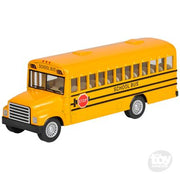 "The Toy Network 5"" diecast Pull back School bus"