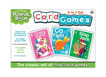 3-in-1 Classic Card Games from Romper Room®by Kahootz Toys