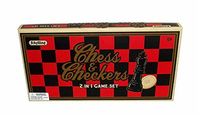 Schylling 2-n-1 Chess and Checkers Set