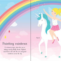 Little Sticker Dolly Dressing Unicorns by Usborne