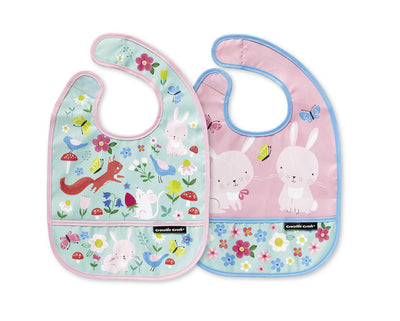 Backyard Friends Bibs by Crocodile Creek