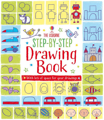 Step-by-step Drawing Book by Usborne
