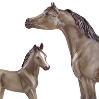 Breyer Grey Arabisl and Foal