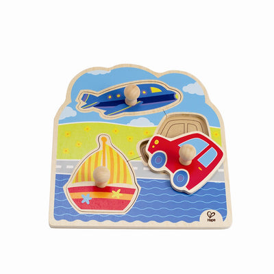 On the go Knob Puzzle by Hape