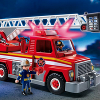 Rescue Ladder Unit by Playmobil