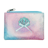 Pink Poppy Mystic Mermaid coin purse