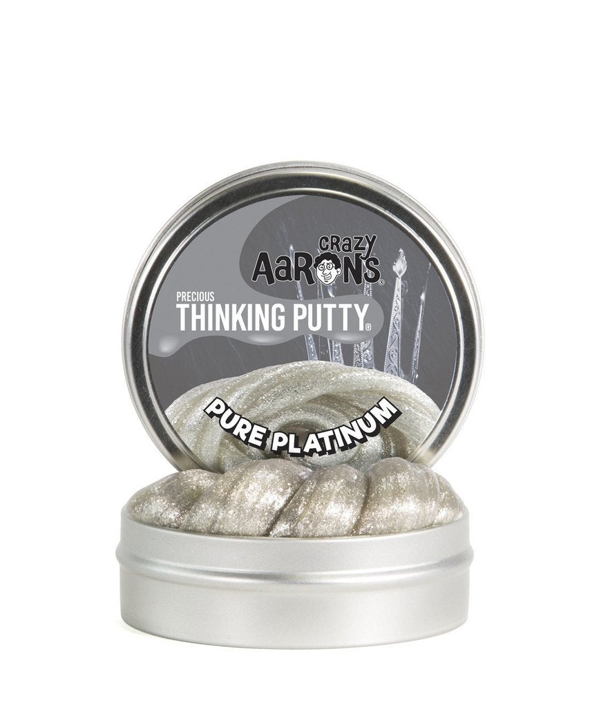 Crazy Aaron Thinking Putty- Pure Platinum