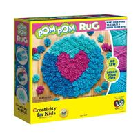 Creativity For Kids Pom Pom Rug Kit