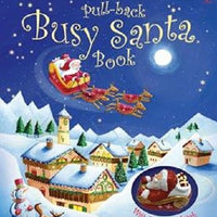 Pull-Back Busy Santa book with toy by Usborne