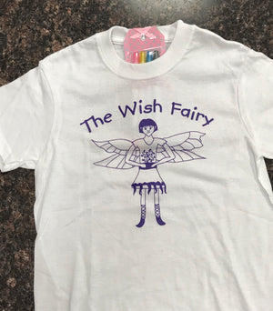 Wish Fairy Color your own t-shirts