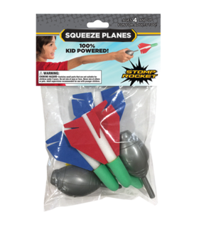 Stomp Rocket mini Squeeze Rockets