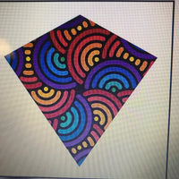 X Kites Colormax Swirls kite