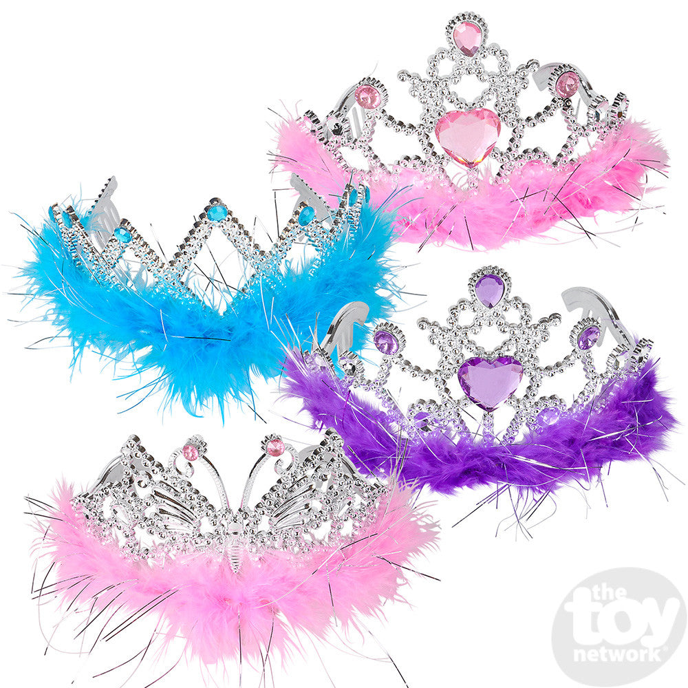 "Toy Network 4"" Feather Tiara"