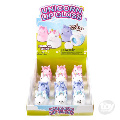 The Toy Network unicorn lip gloss