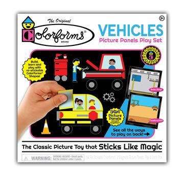 Colorforms® Vehicles Picture Panels Play Set by Kahootz Toys