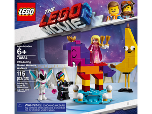Lego Movie 2 Queen Waterina Wa'Naby