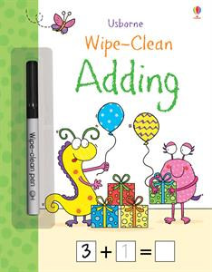 Usborne WIpe Clean Adding Activity book