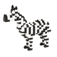 Nanoblocks Zebra by Schylling