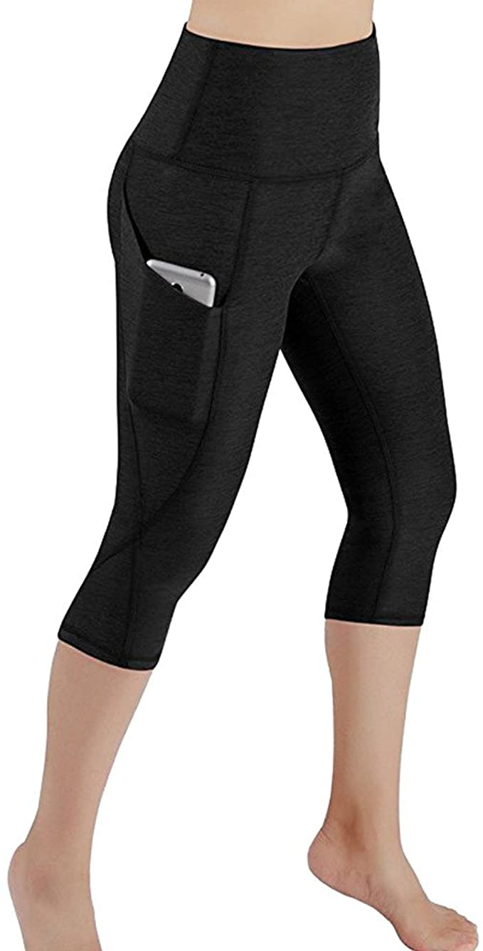 2020 Ladies Yoga Pants Outer Pocket High Waist Workout, Tights Tummy Control Fitness Gym Running Yog