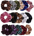 16 Pcs Velvet Hair Rope Elastic Hair Bands Scrunchy for Women and Girls Hair Accessories Head Rope