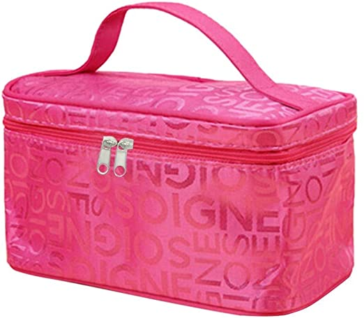 Travel Large Capacity Toiletry Wash Bag Waterproof Makeup Cosmetic Organiser Ideal Gift for Women Gi