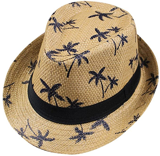 2020 New Floppy Foldable Ladies Women Maple Leaf Straw Beach Sun Summer Hat Cap